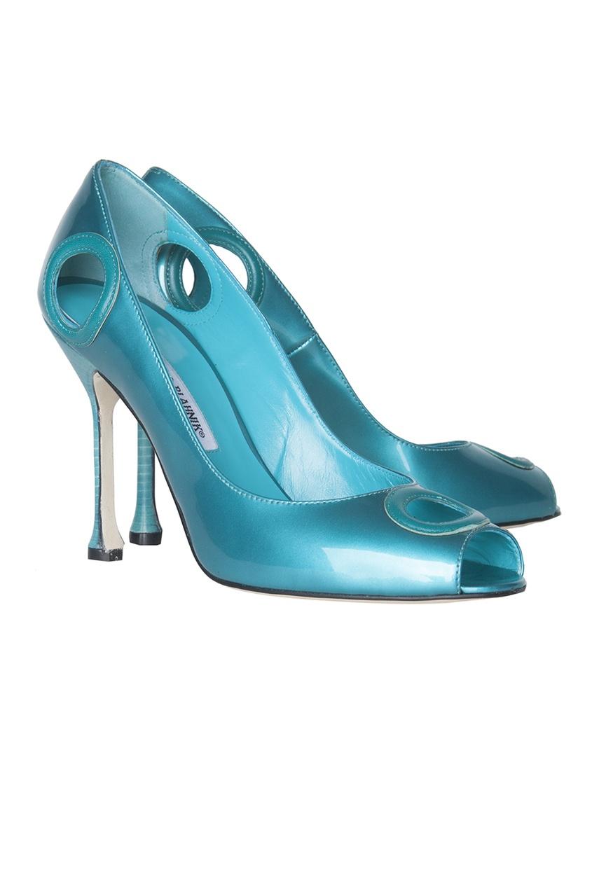 Кожаные туфли Orlo.