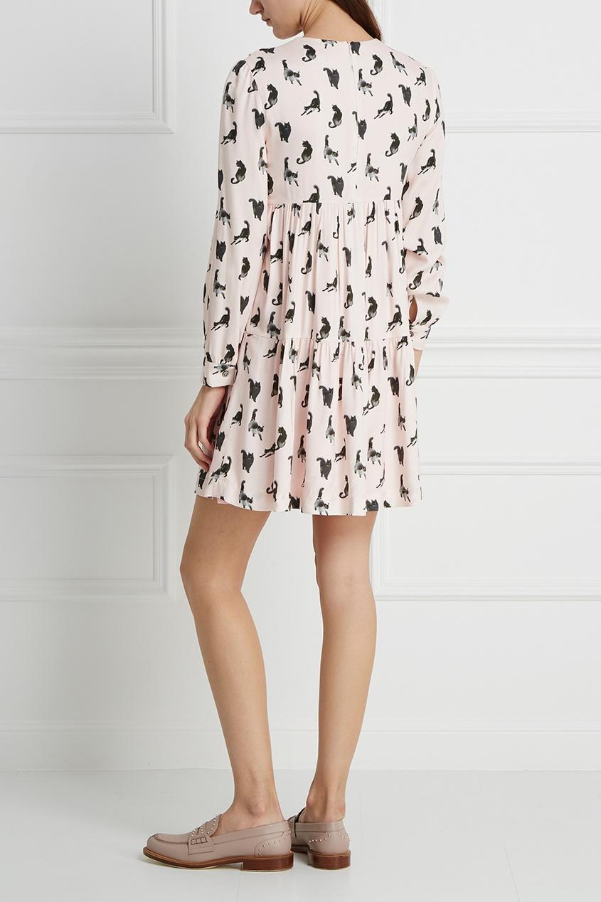 Платье с принтом Lilycat