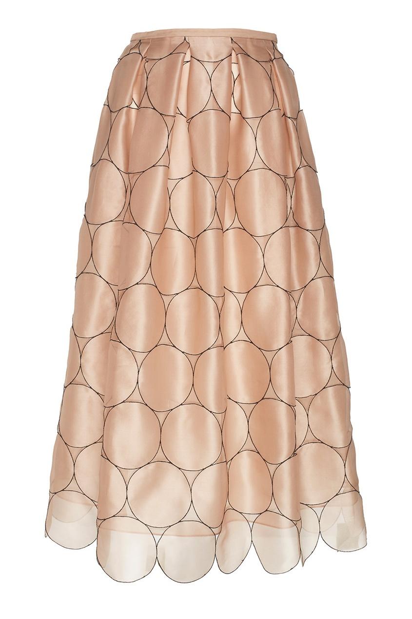 Rochas Шелковая юбка