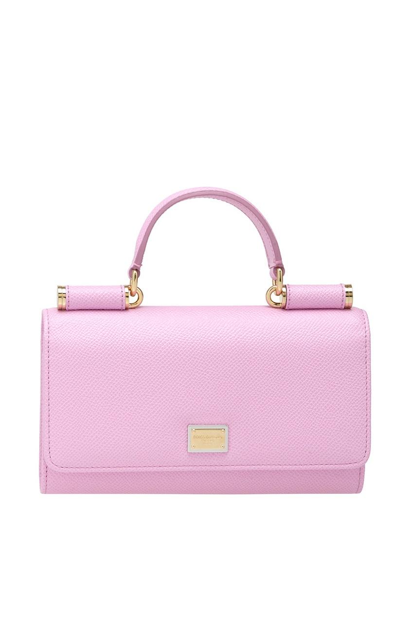 Dolce&Gabbana Кожаная сумка Mini Von Bag