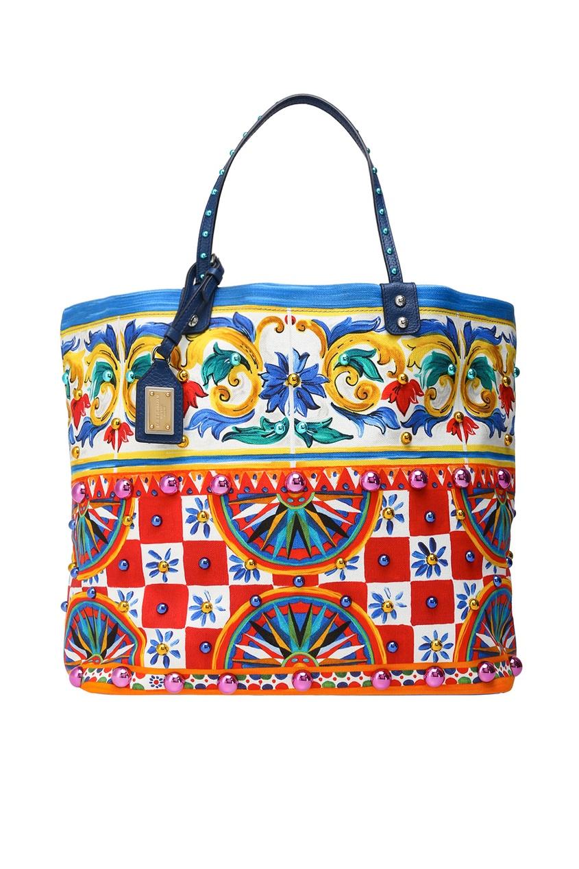 Dolce&Gabbana Хлопковая сумка