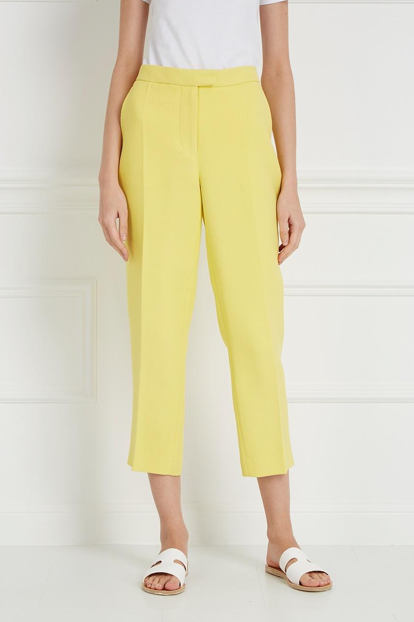 цена 3.1 Phillip Lim Зауженные желтые брюки онлайн в 2017 году