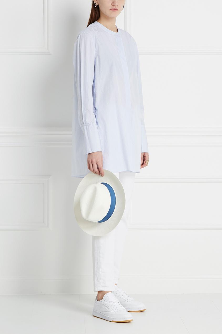 Хлопковая блузка Louis