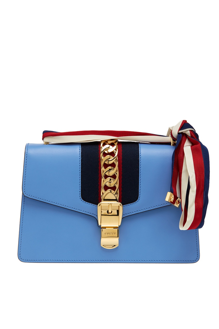 все цены на Gucci Кожаная сумка Sylvie