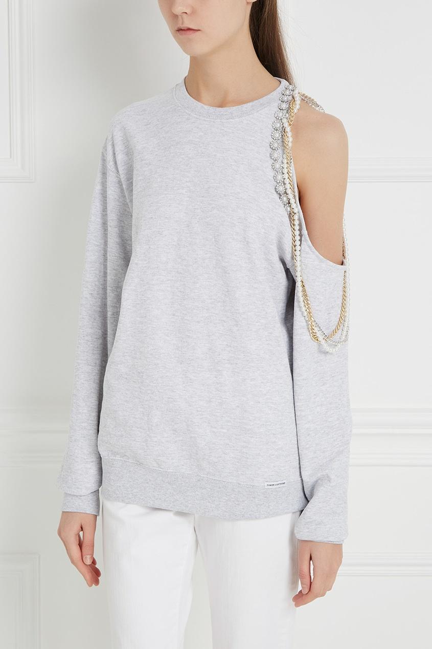 Forte Couture Хлопковый свитшот Cindy Crawford