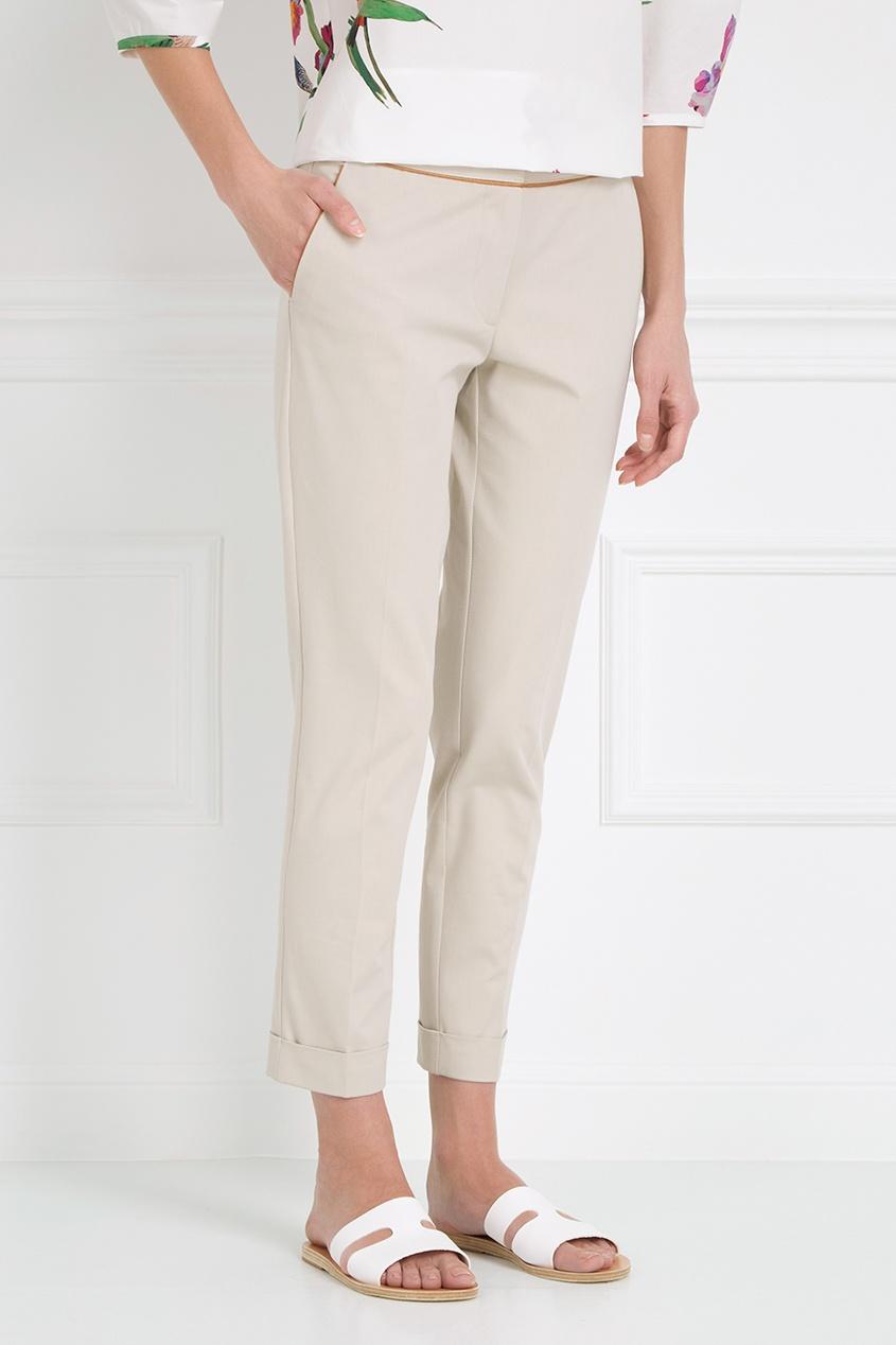 Etro Однотонные брюки