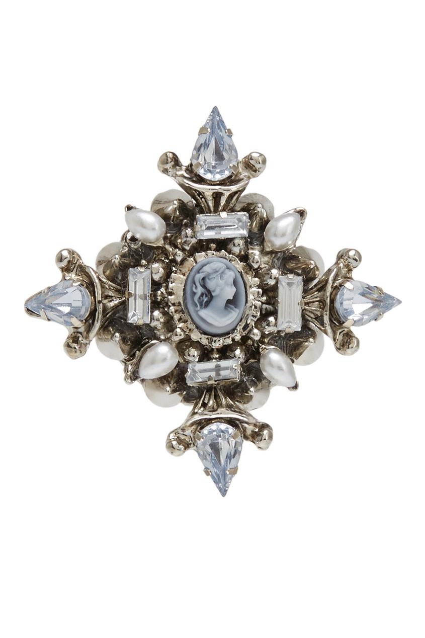 Herald Percy Брошь с кристаллами