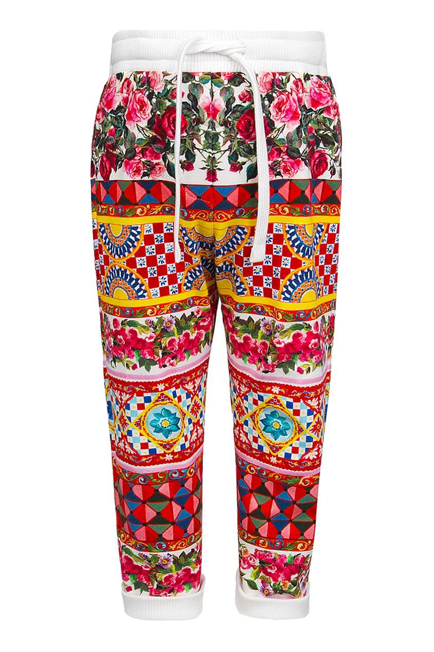 Хлопковые брюки от AIZEL