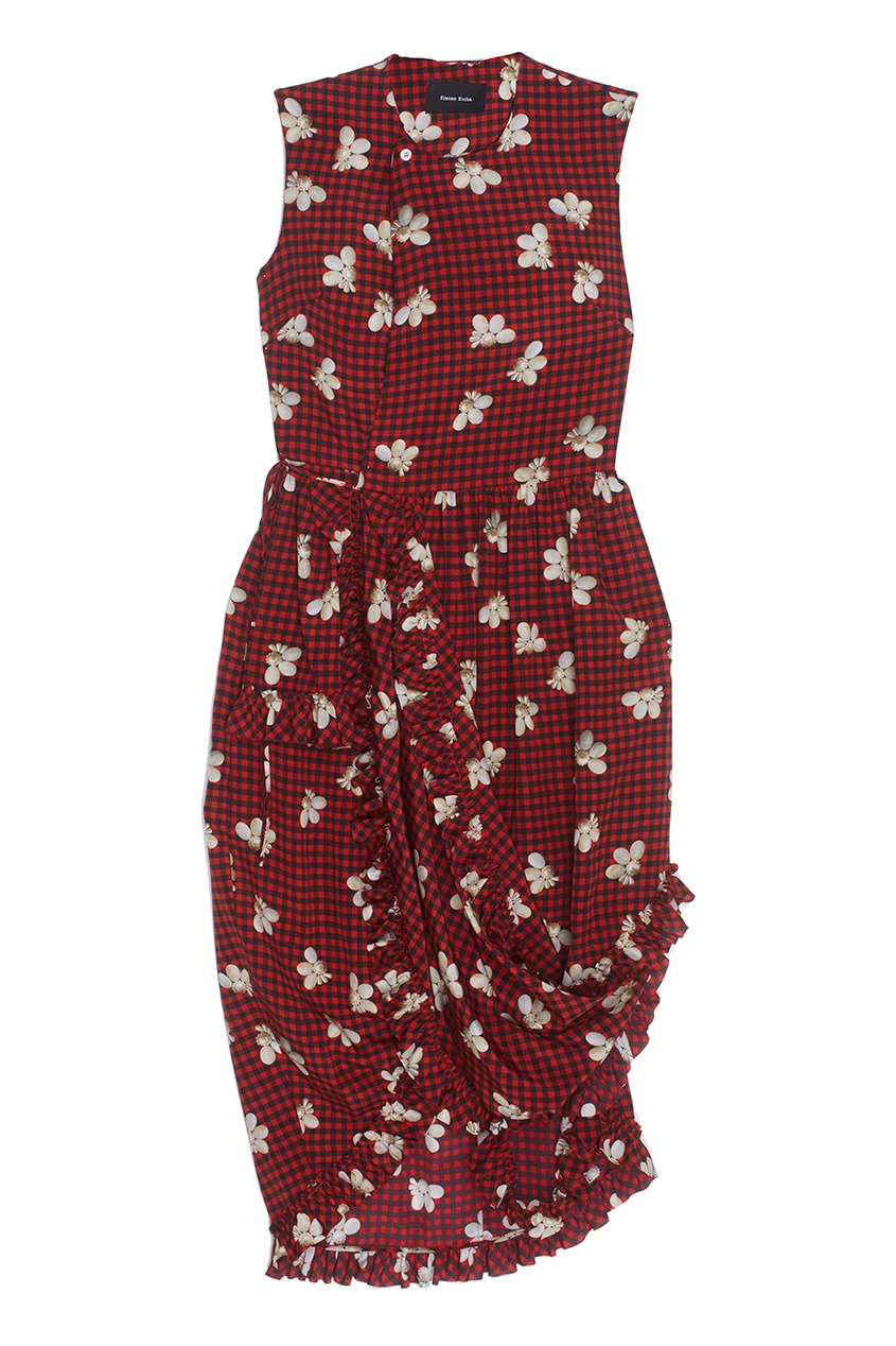 где купить  Simone Rocha Шелковое платье  по лучшей цене