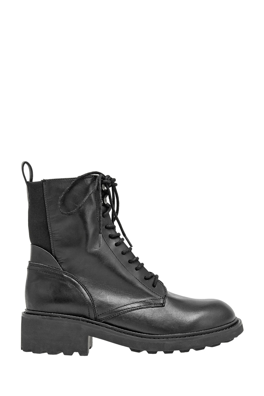 Кожаные ботинки Styx