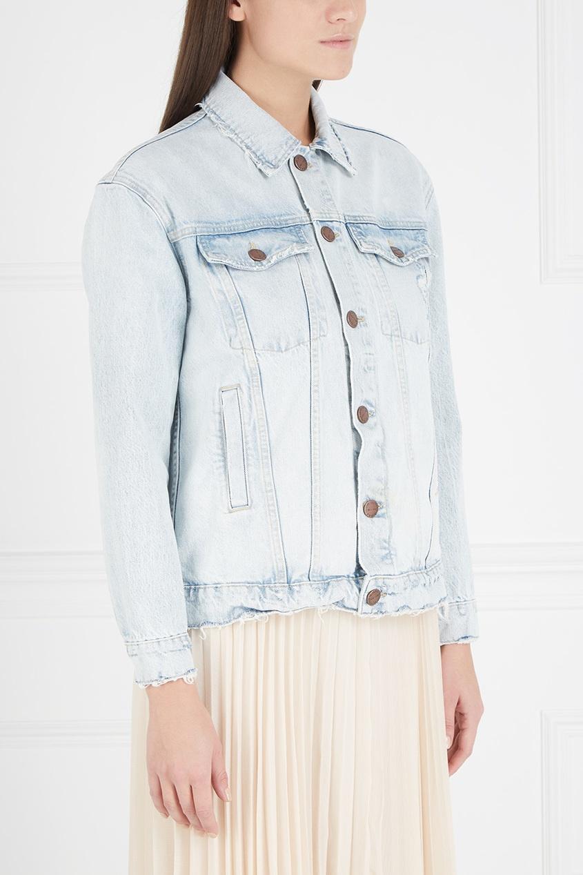 Джинсовая куртка #852. джинсовая, куртка
