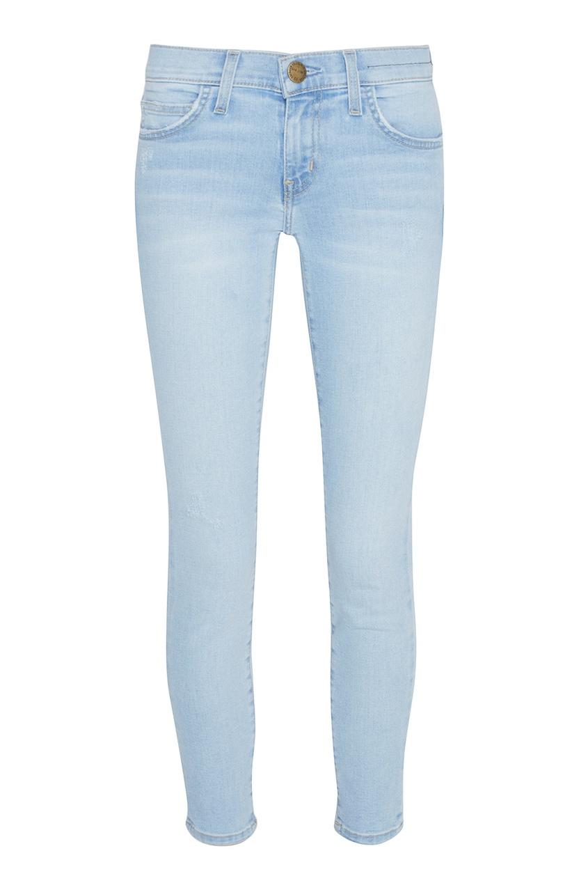 Купить со скидкой Укороченные джинсы-скинни