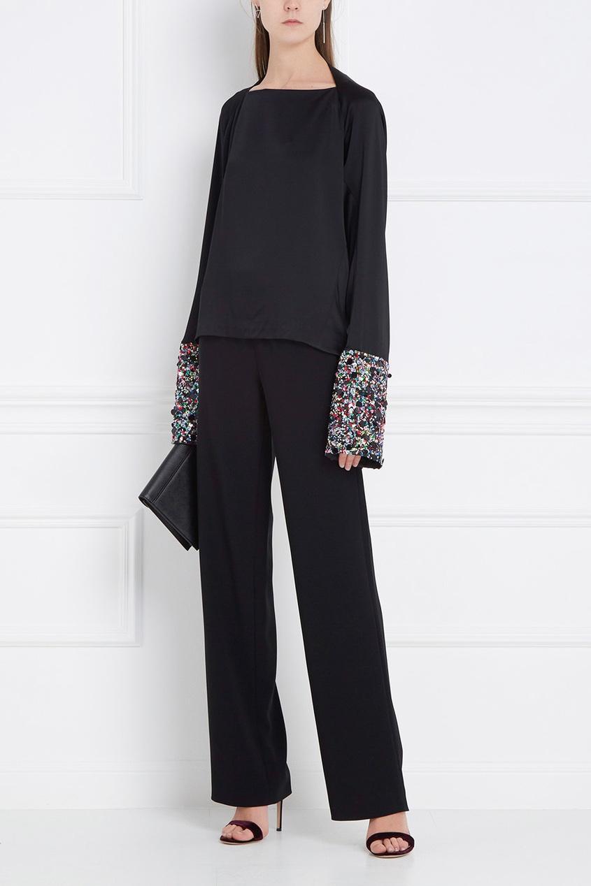 Boutique Moschino Однотонные брюки