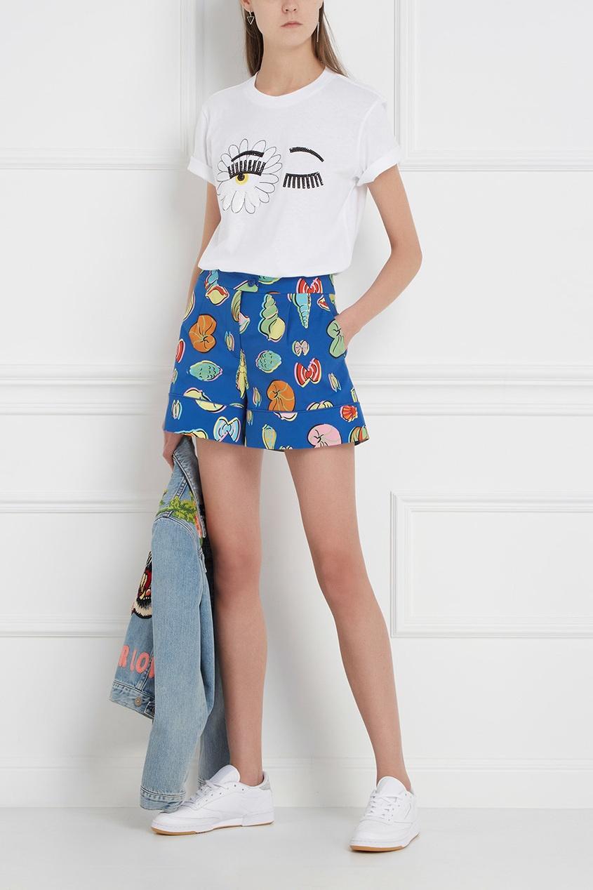 Boutique Moschino Хлопковые шорты