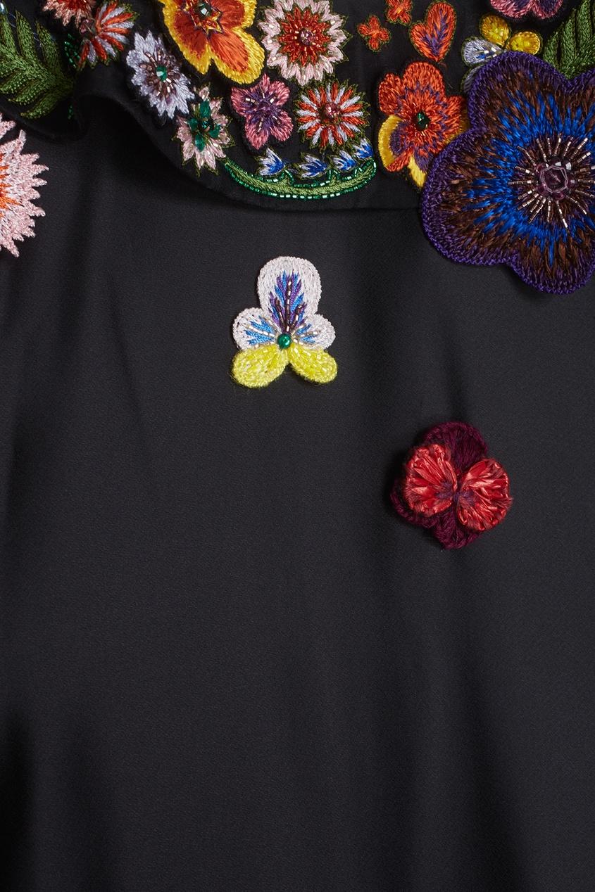 Fendi Платье А-силуэта