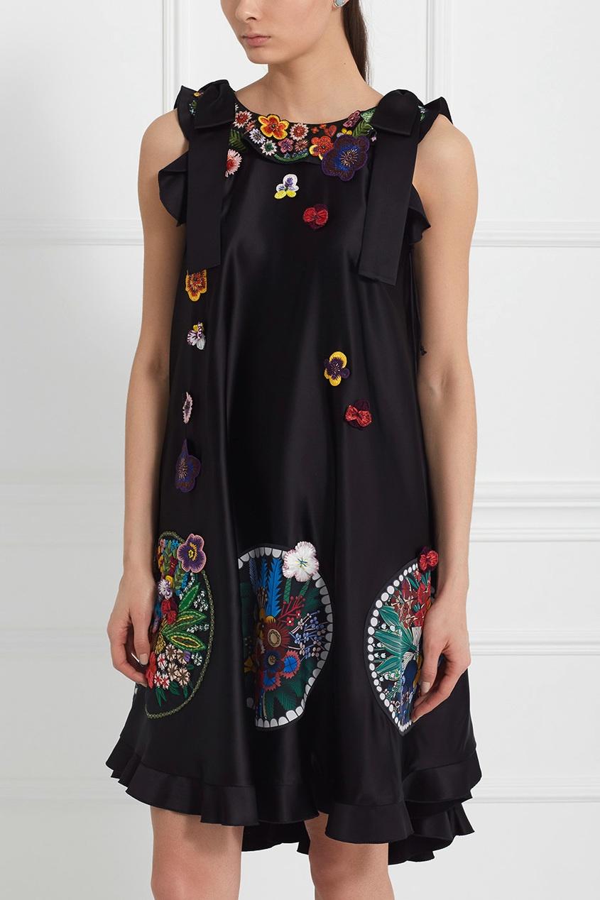 Платье А-силуэта от AIZEL
