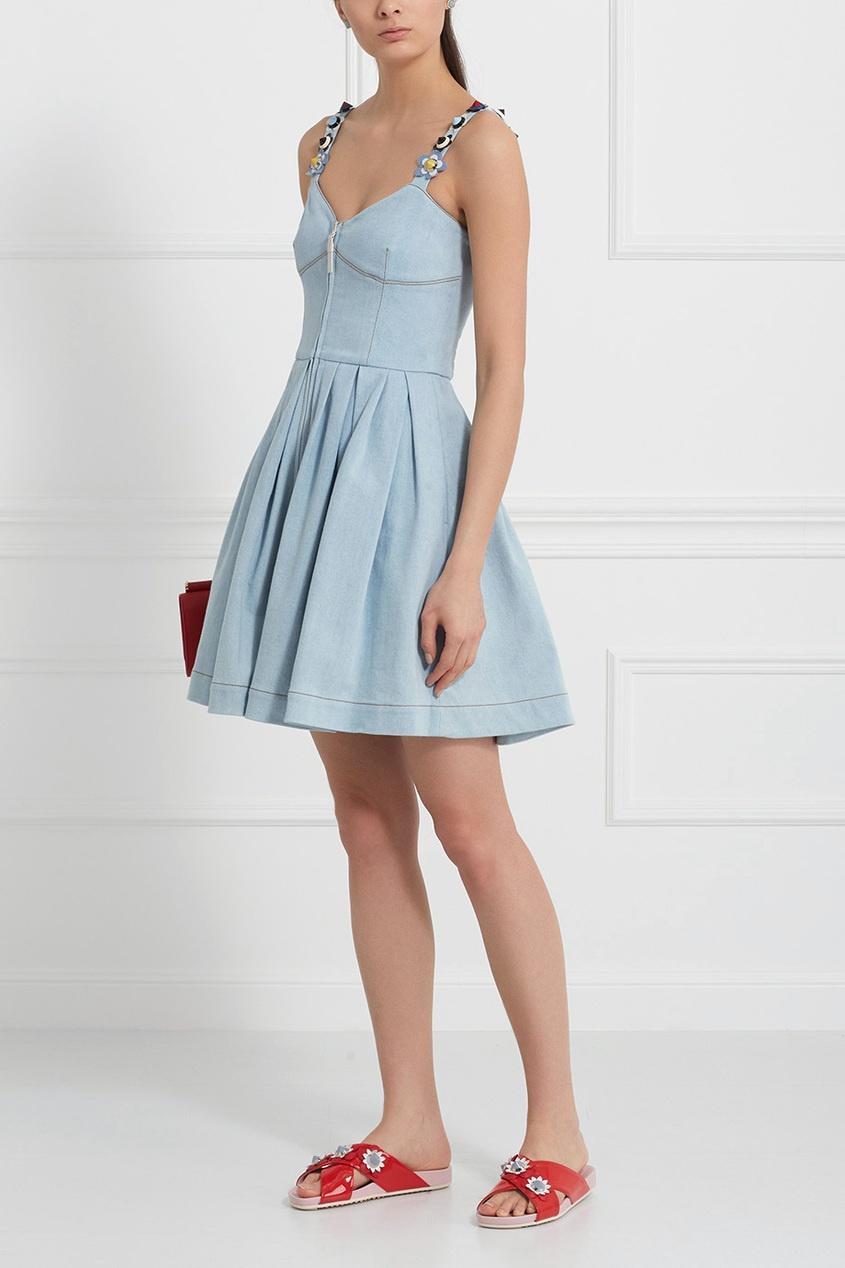 Fendi Платье из денима
