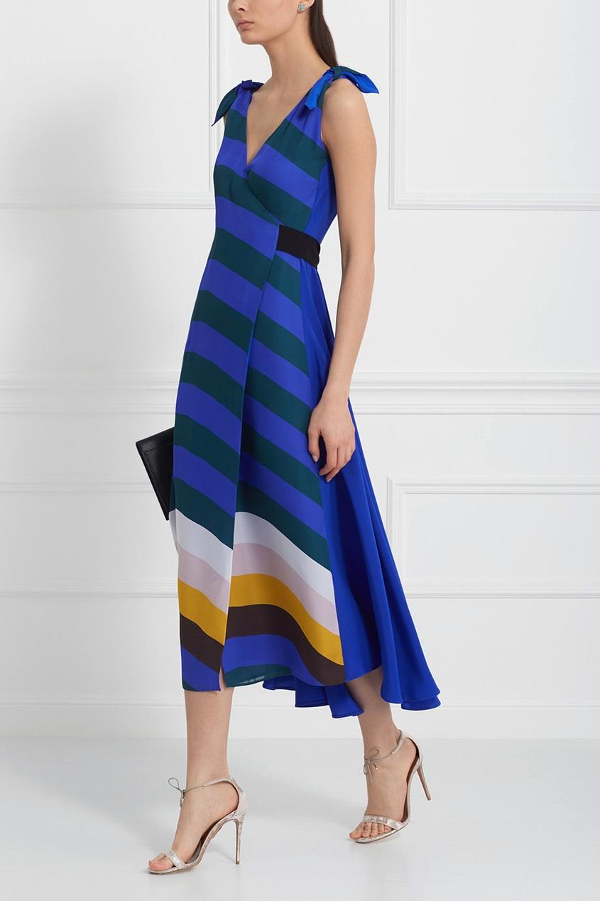 Fendi Шелковое платье