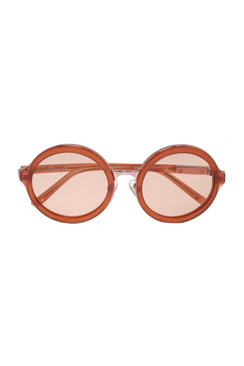 Linda Farrow Солнцезащитные очки Linda Farrow Х 3.1 Phillip Lim linda farrow черепаховые солнцезащитные очки linda farrow x phillip lim