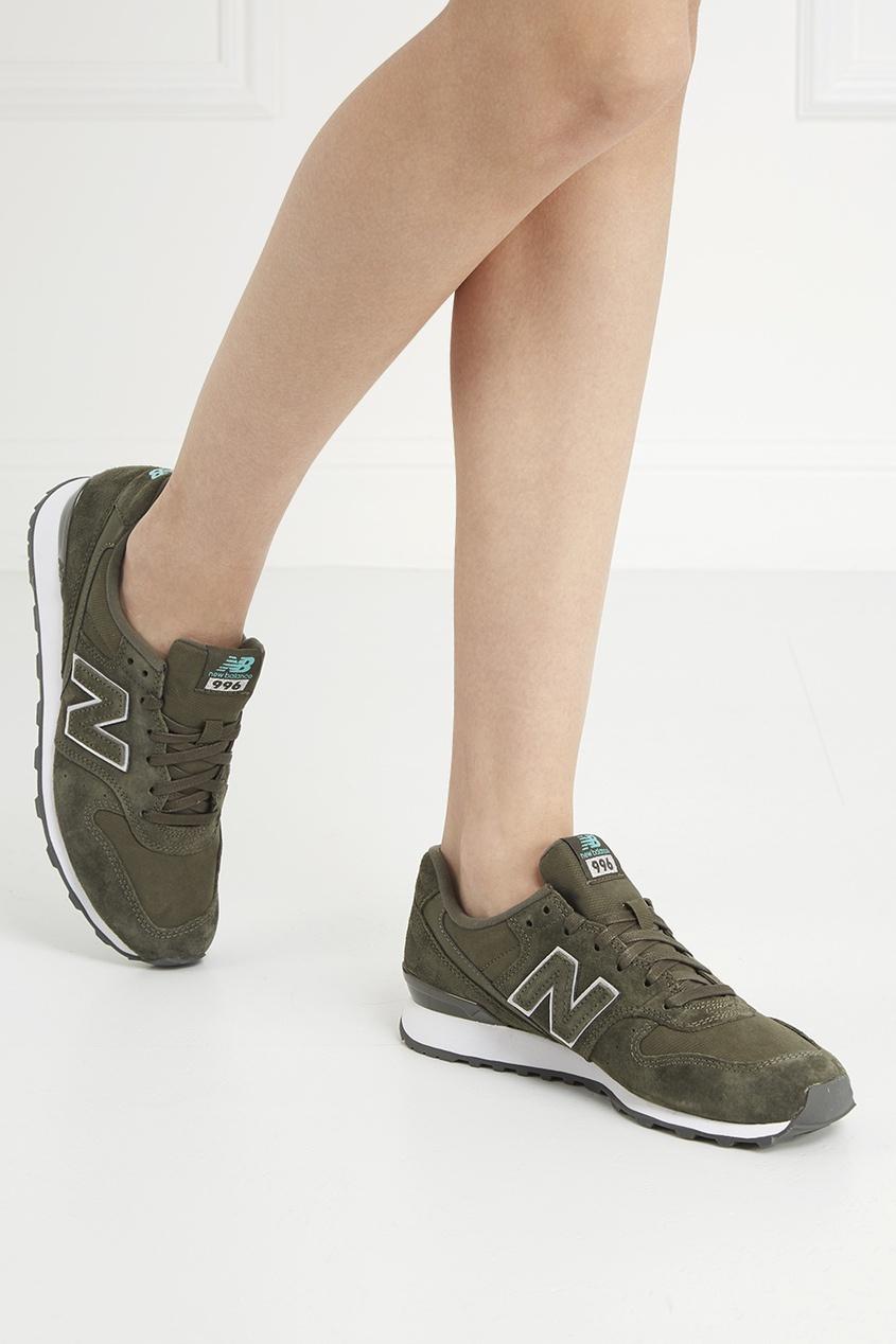 New Balance Замшевые кроссовки №996