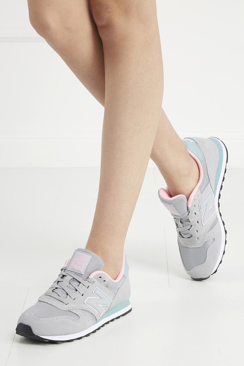 Замшевые кроссовки №373