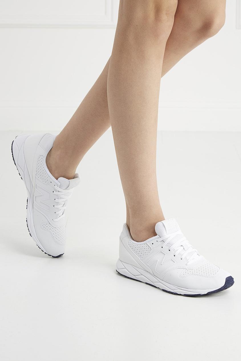 Кожаные кроссовки №96