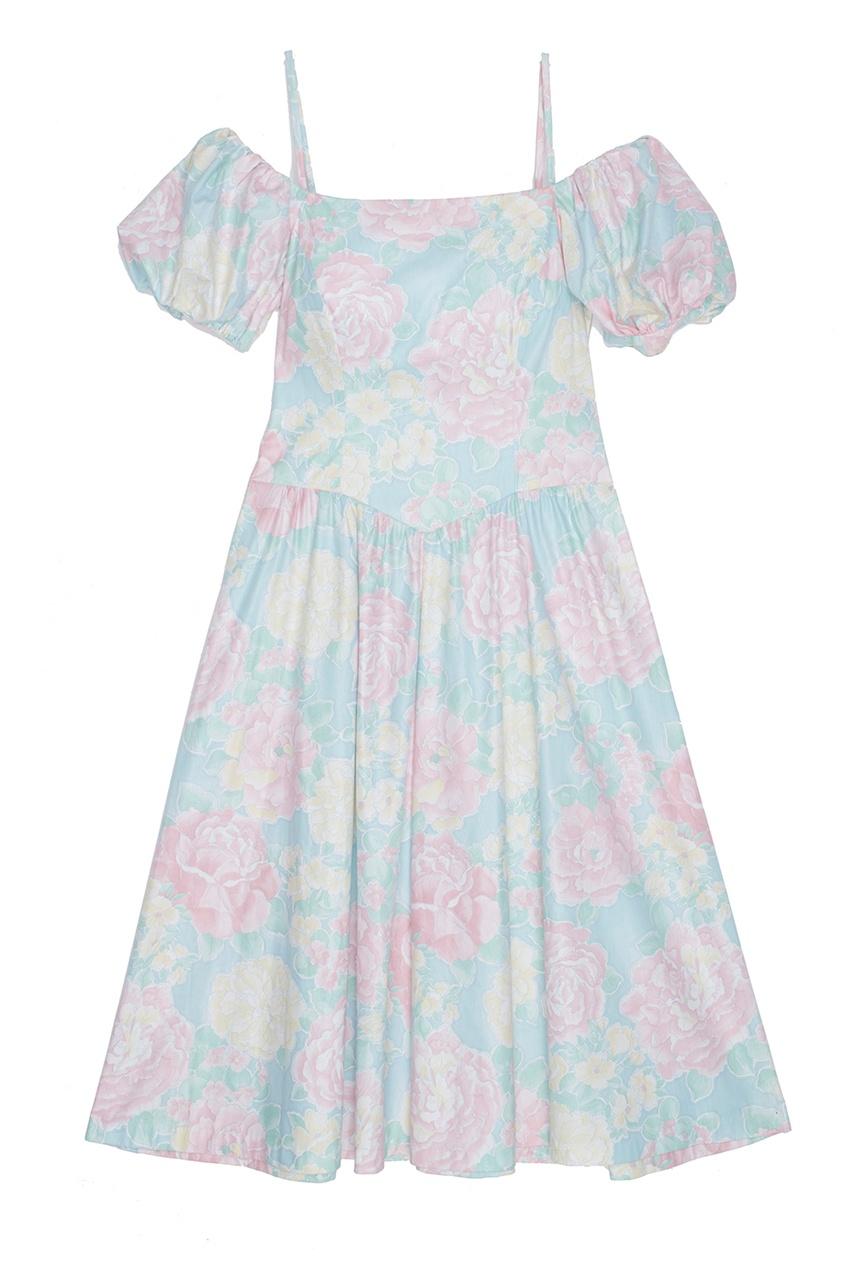 Lanz Vintage Платье (1980-е) laura ashley vintage платье 1980 1990 е