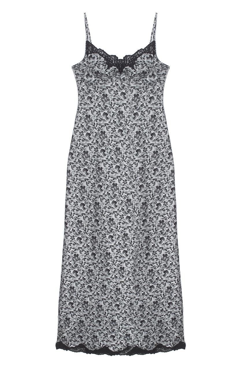 Lolita Lempicka Vintage Шелковое платье (1990-е)