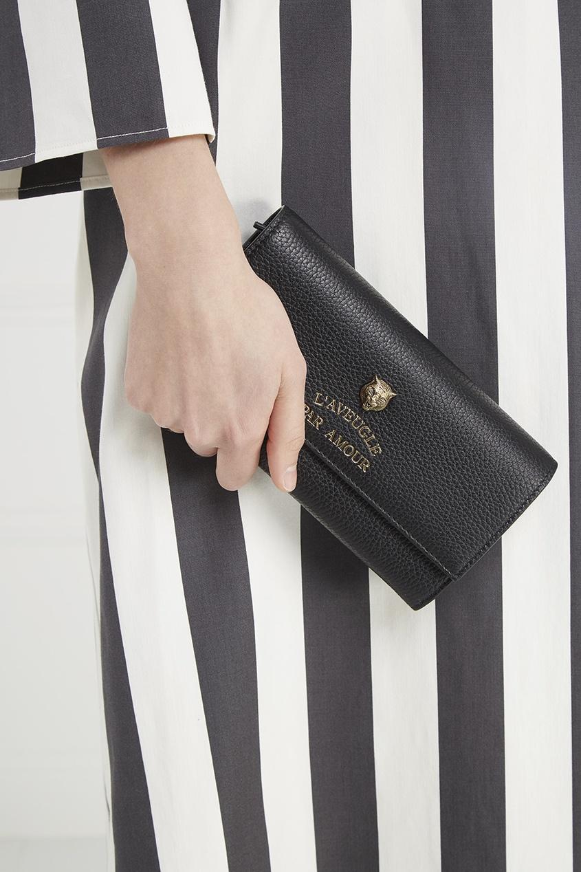 Кожаный кошелек L'Aveugle Par Amour