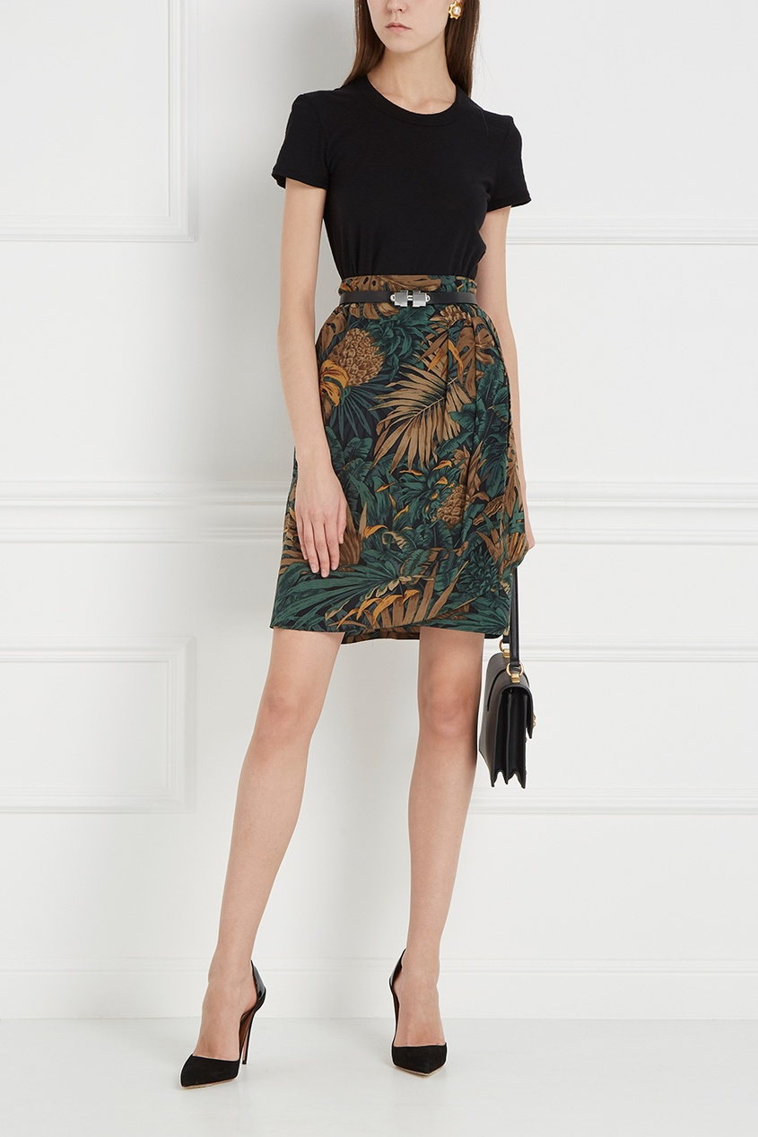 Ellen Tracy Vintage Шелковая юбка lesley harris ellen canadian copyright law