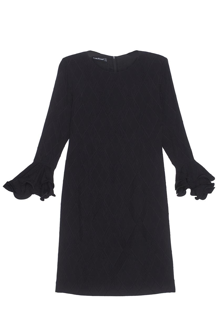 Louis Feraud Vintage Шелковое платье (1990-е)