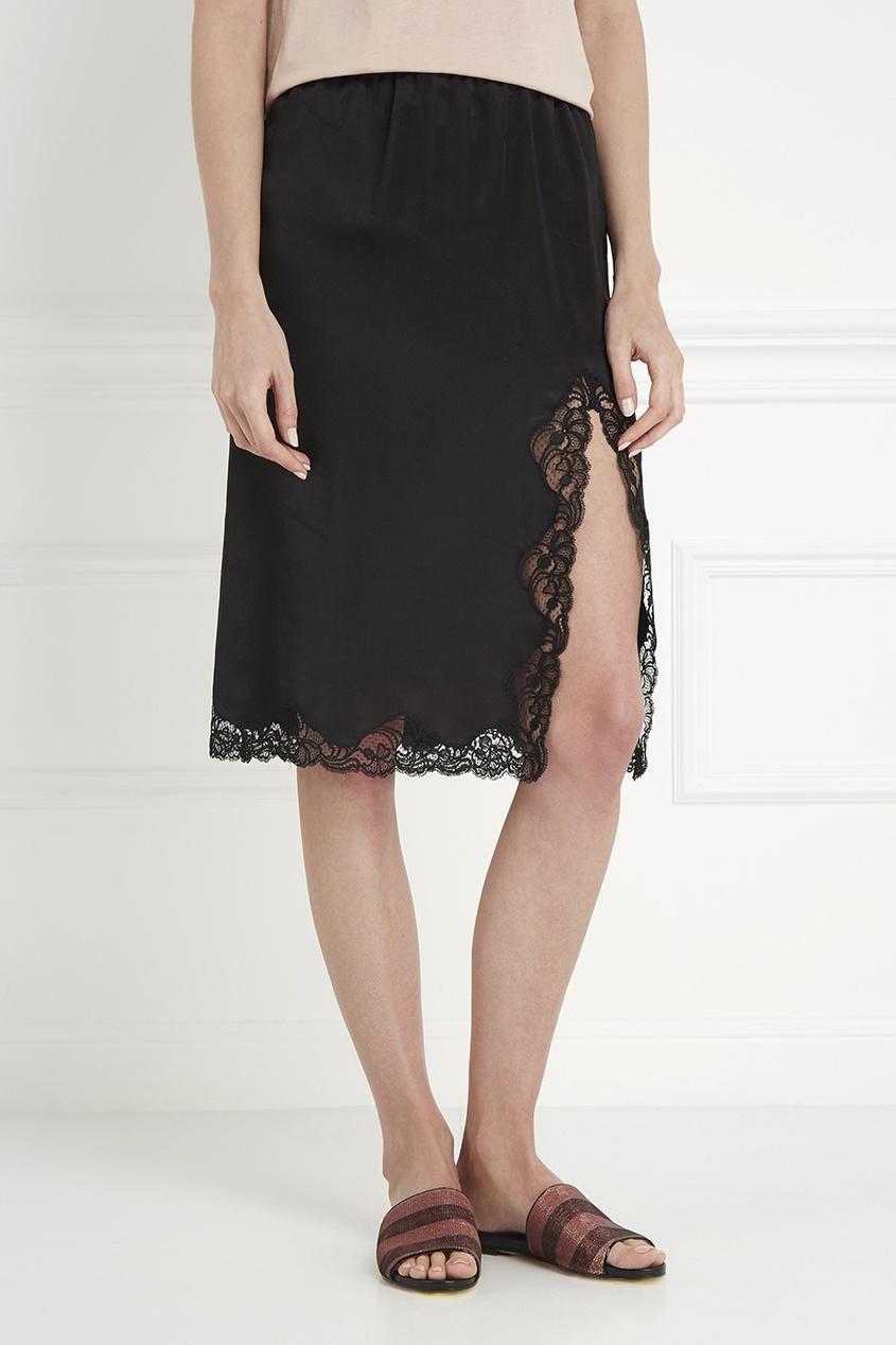 Alexander Wang Шелковая юбка