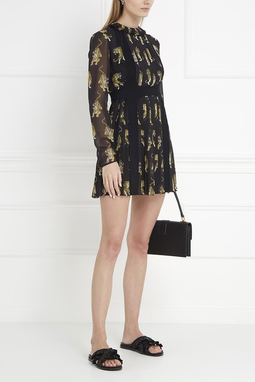 Giamba Платье с принтом