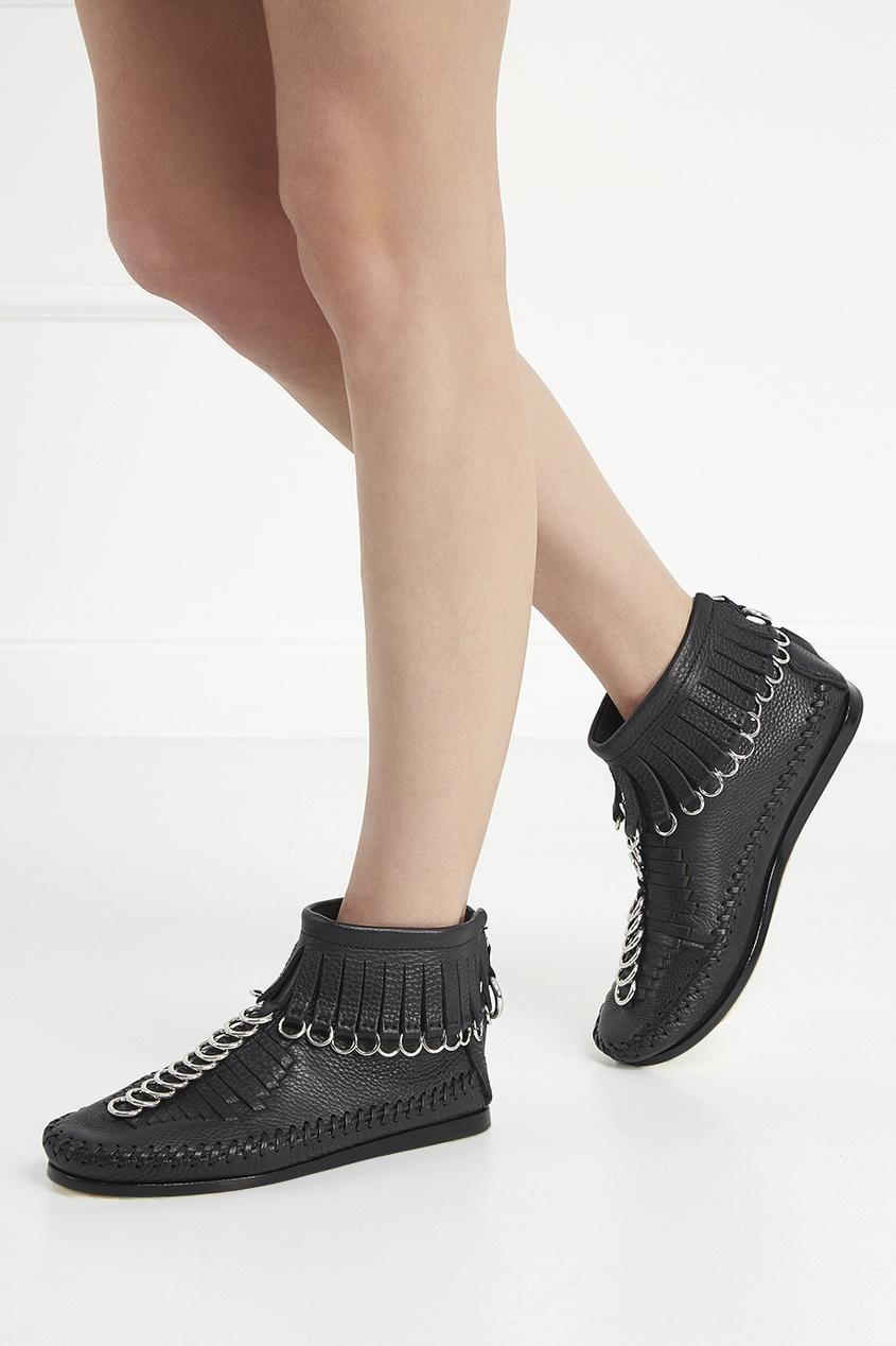 Alexander Wang Кожаные ботинки
