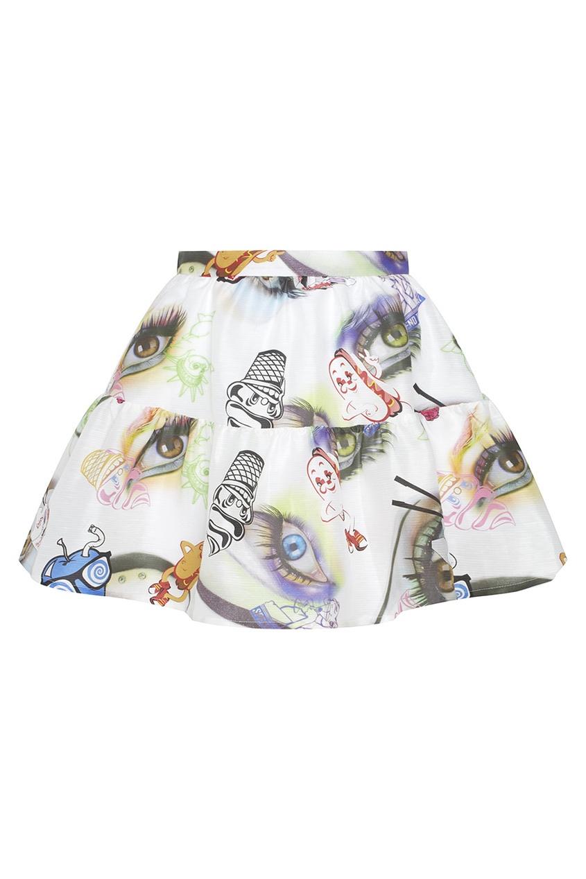 KENZO Юбка с принтом kenzo платья с принтом