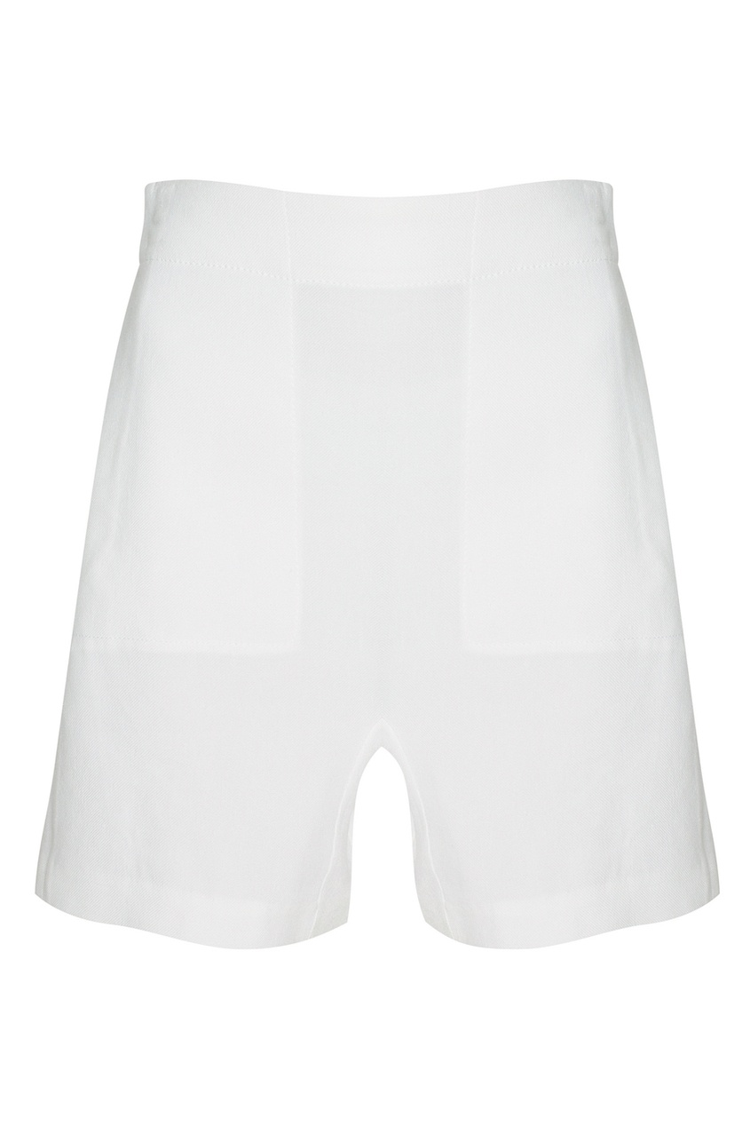 Льняные шорты