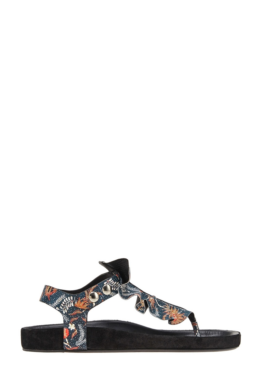 Кожаные сандалии Leakey