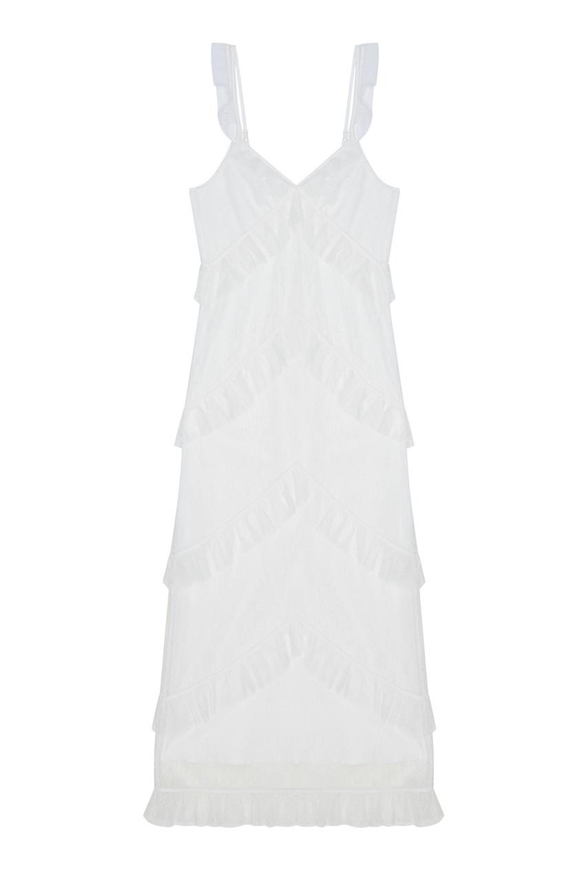 LAROOM Кружевное платье шикарное гипюровое платье с рукавом 1 2 caterina leman шикарное гипюровое платье с рукавом 1 2
