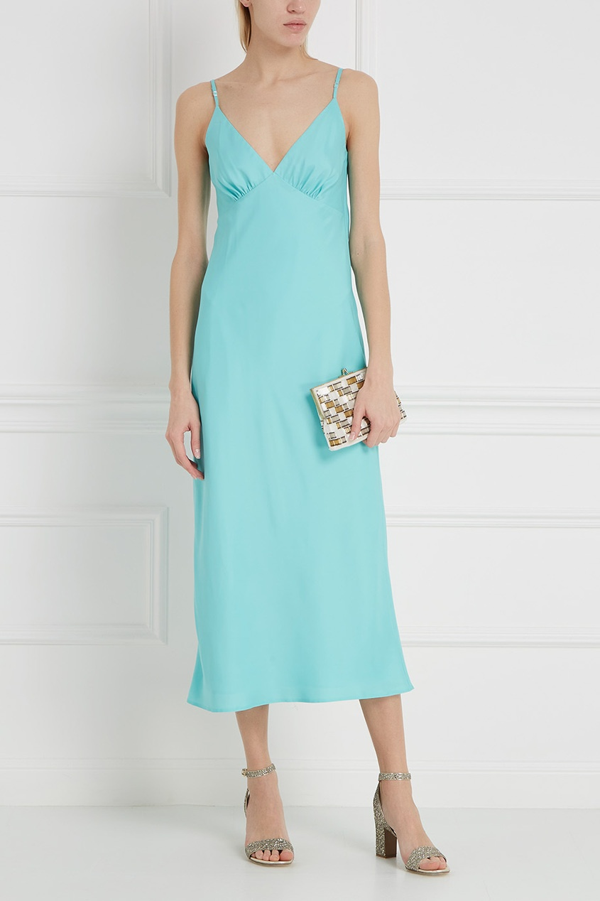 цена LAROOM Однотонное платье онлайн в 2017 году
