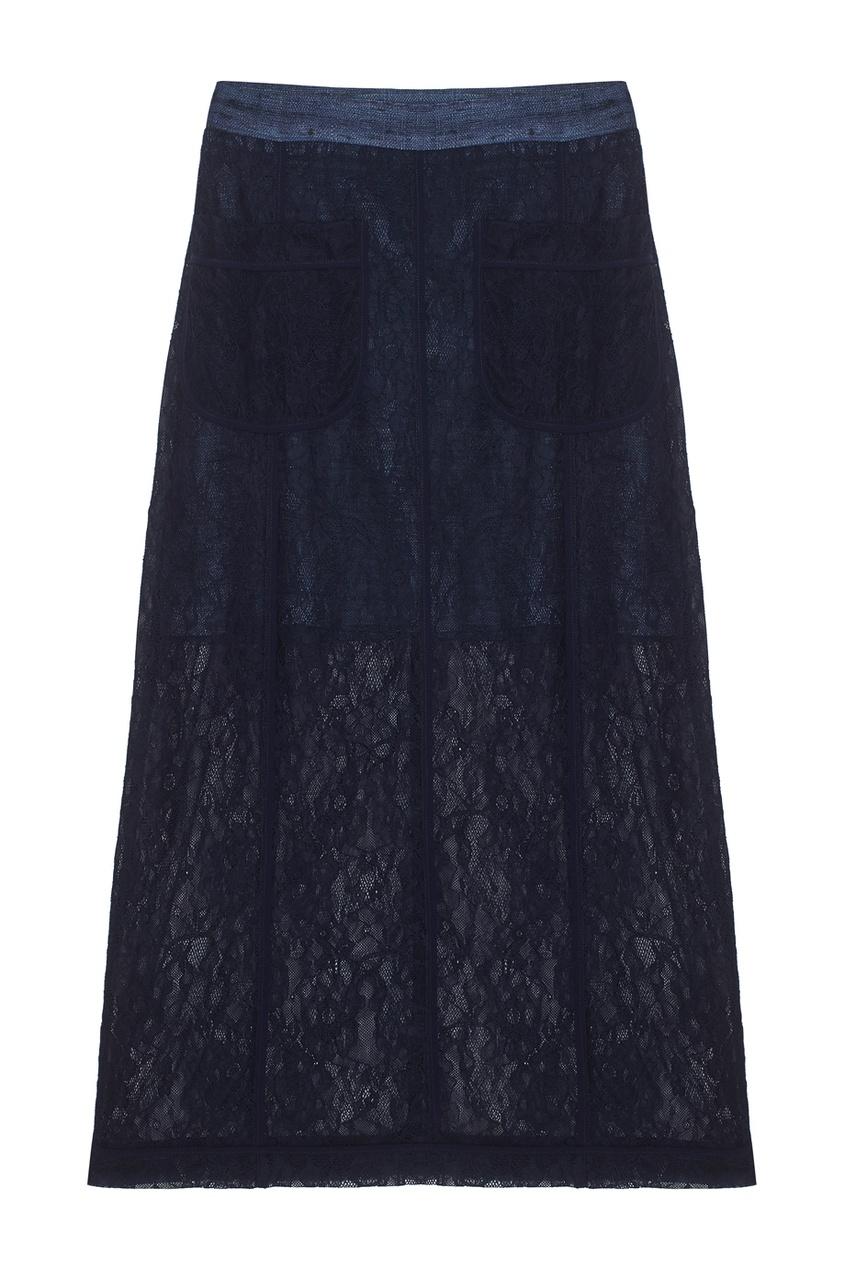 LAROOM Комбинированная юбка юбка brusnika brusnika br032ewwsq30