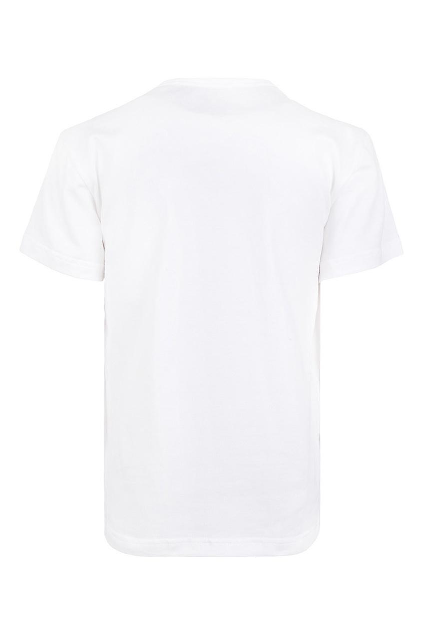 Dolce&Gabbana Children Хлопковая футболка футболка белая с принтом ido ут 00004169