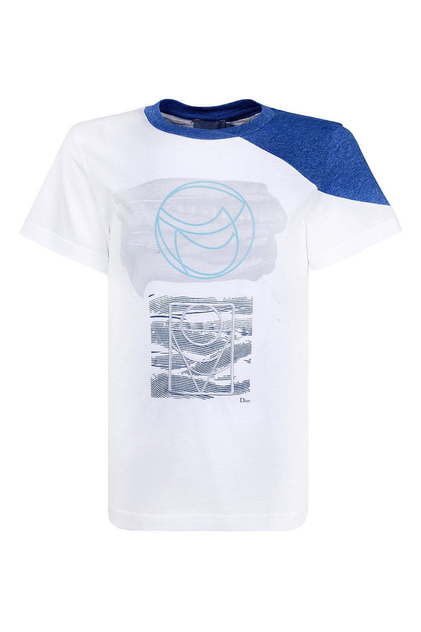 Dior Children Хлопковая футболка футболка baby dior футболка