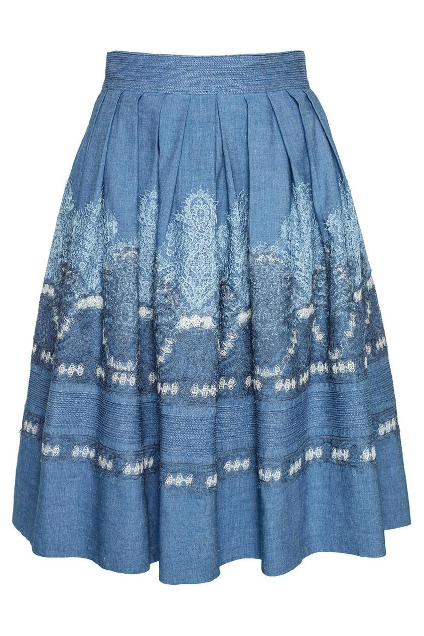 Ermanno Scervino Хлопковая юбка