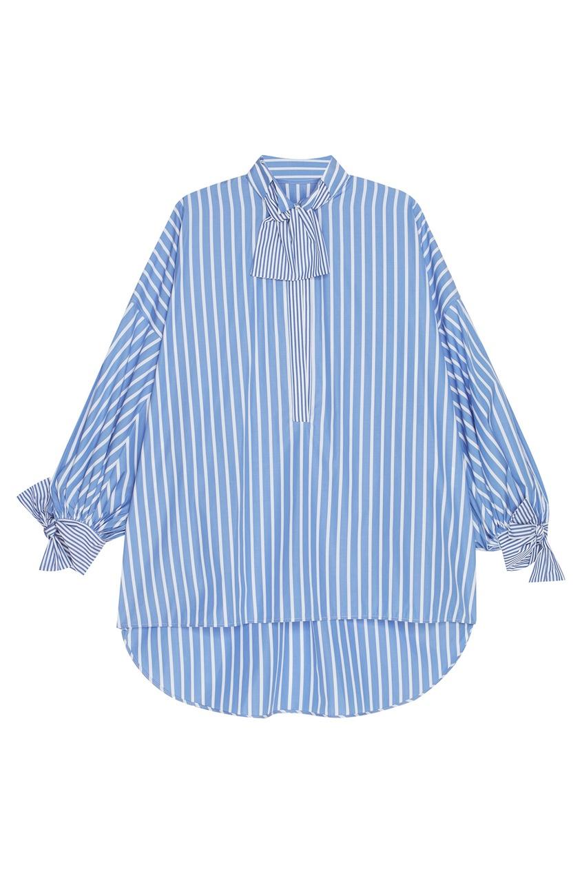 цена  Ermanno Scervino Хлопковая рубашка  онлайн в 2017 году