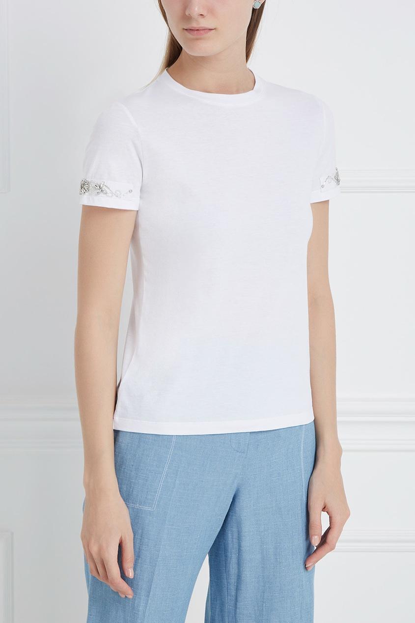 Ermanno Scervino Хлопковая футболка