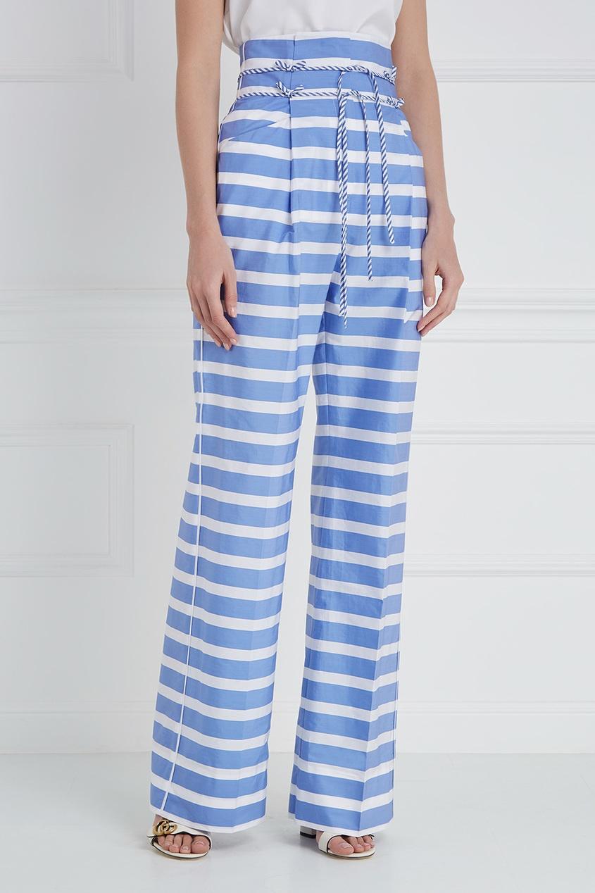 Ermanno Scervino Хлопковые брюки