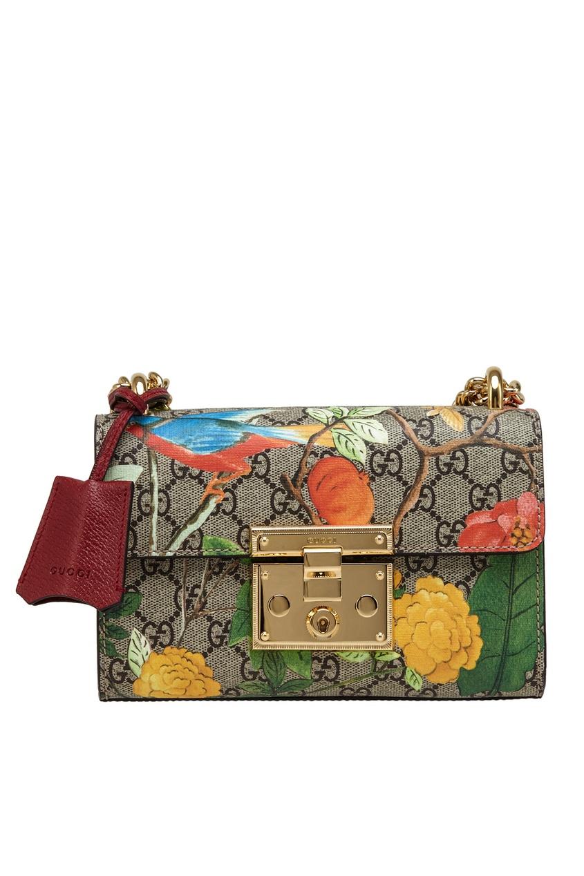 Gucci Кожаная сумка Tian