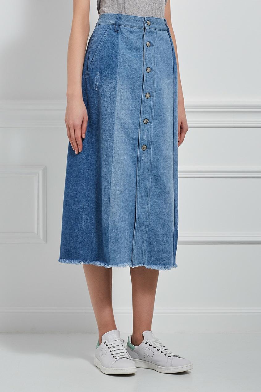 MO&Co Джинсовая юбка