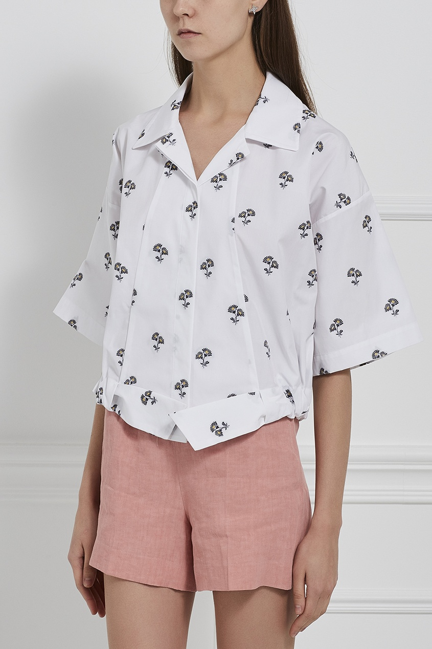 Victoria Beckham Хлопковая блузка