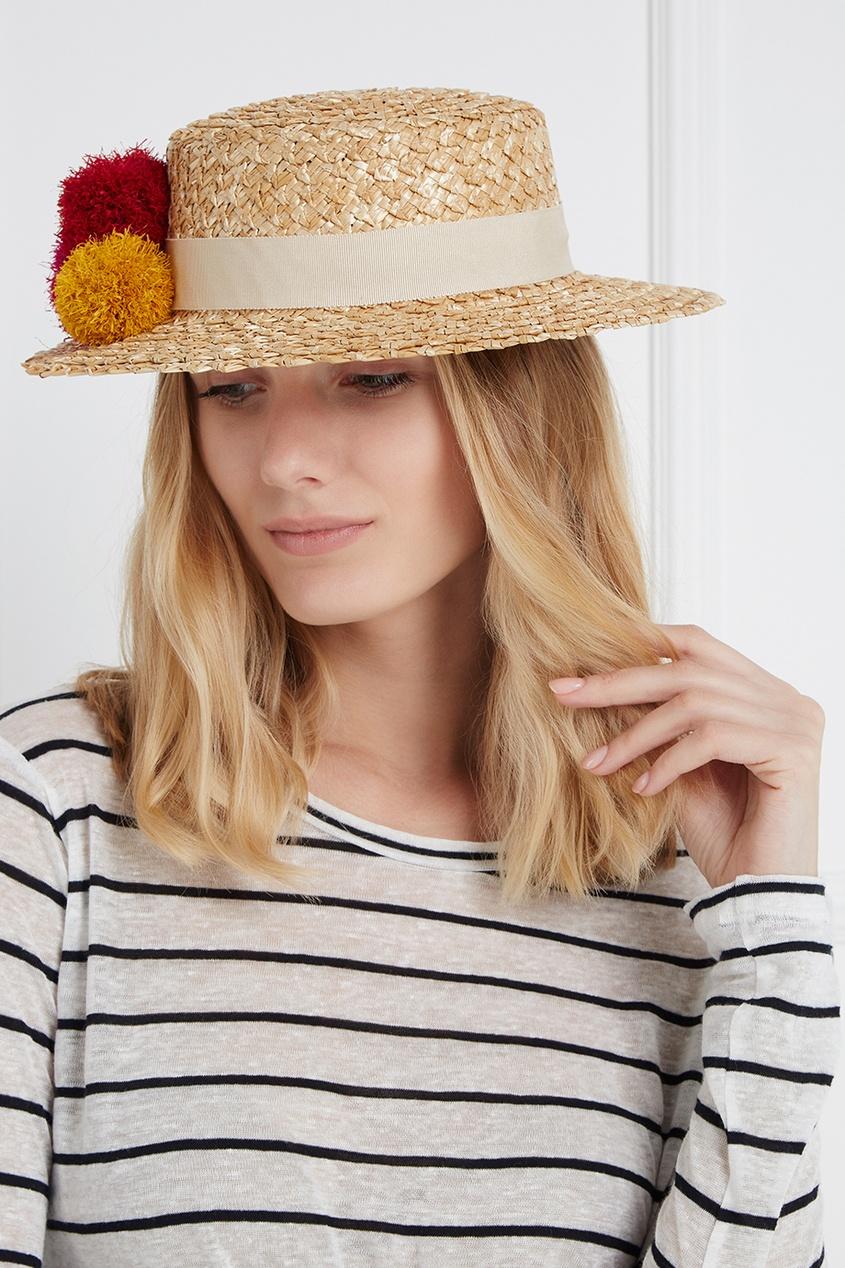 Соломенная шляпа Brigitte